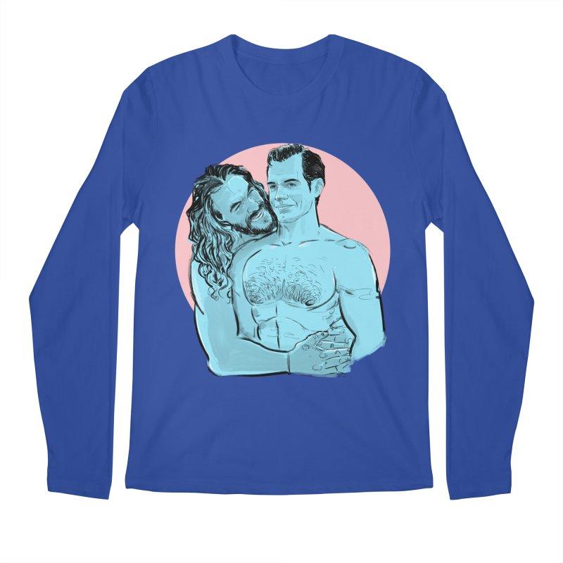 Heart of Steel Men's Longsleeve T-Shirt by Ego Rodriguez