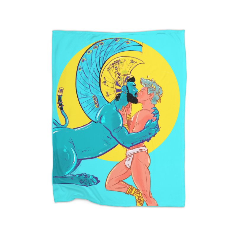 Oedipus + Sphinx Home Blanket by Ego Rodriguez