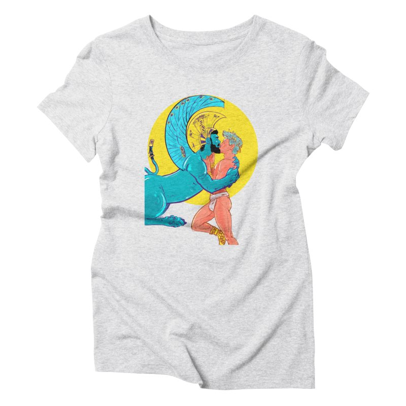 Oedipus + Sphinx Women's Triblend T-Shirt by Ego Rodriguez