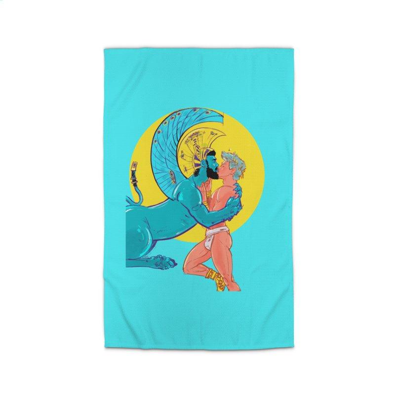 Oedipus + Sphinx Home Rug by Ego Rodriguez