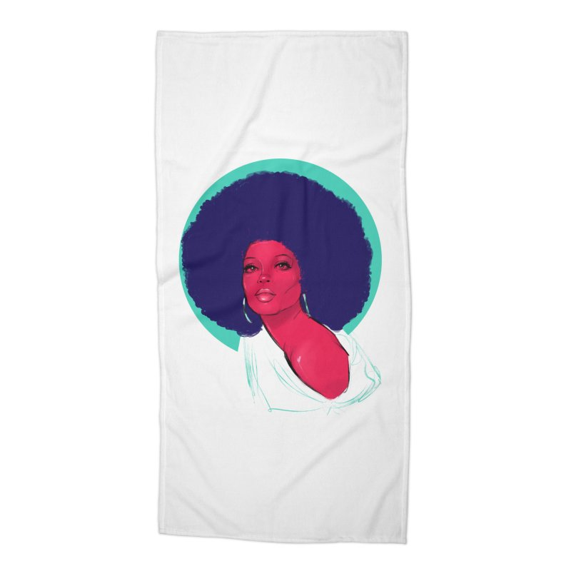 Diana Accessories Beach Towel by Ego Rodriguez