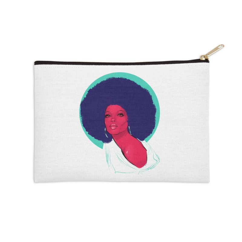 Diana Accessories Zip Pouch by Ego Rodriguez