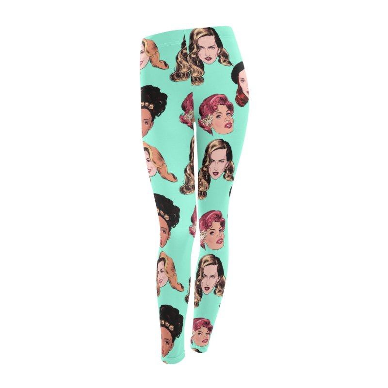 Big Five Women's Leggings Bottoms by Ego Rodriguez