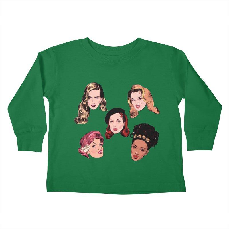 Big Five Kids Toddler Longsleeve T-Shirt by Ego Rodriguez