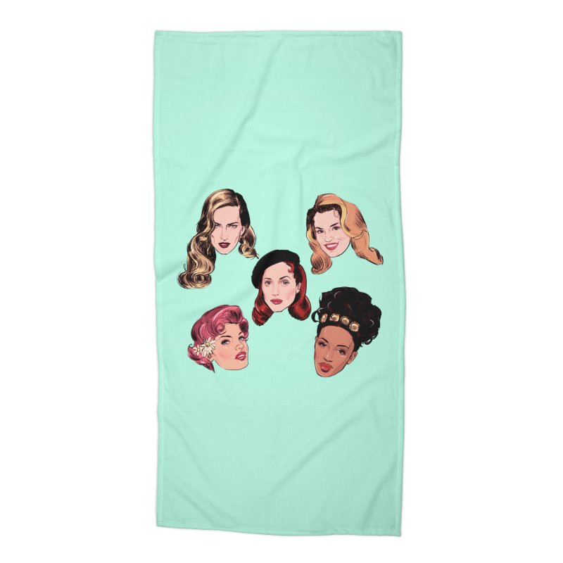 Big Five Accessories Beach Towel by Ego Rodriguez