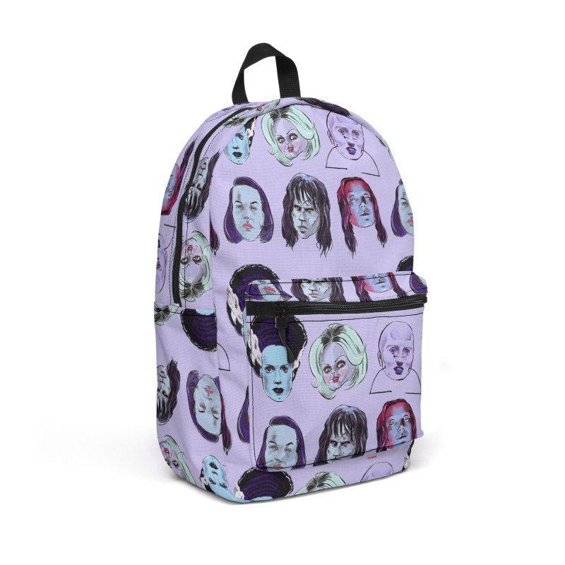 Horror Femmes Accessories Backpack Bag by Ego Rodriguez