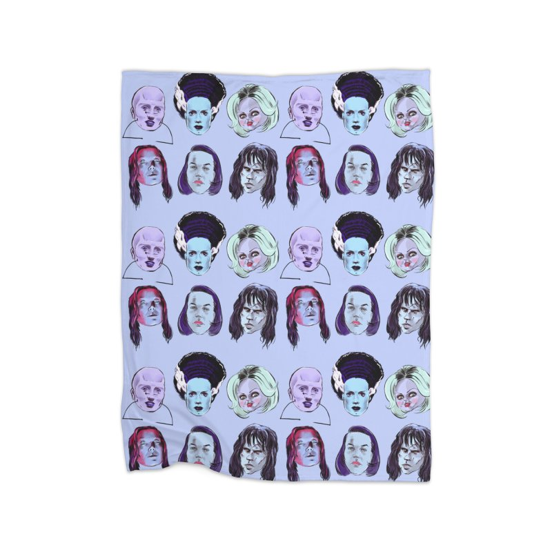 Horror Femmes Home Blanket by Ego Rodriguez