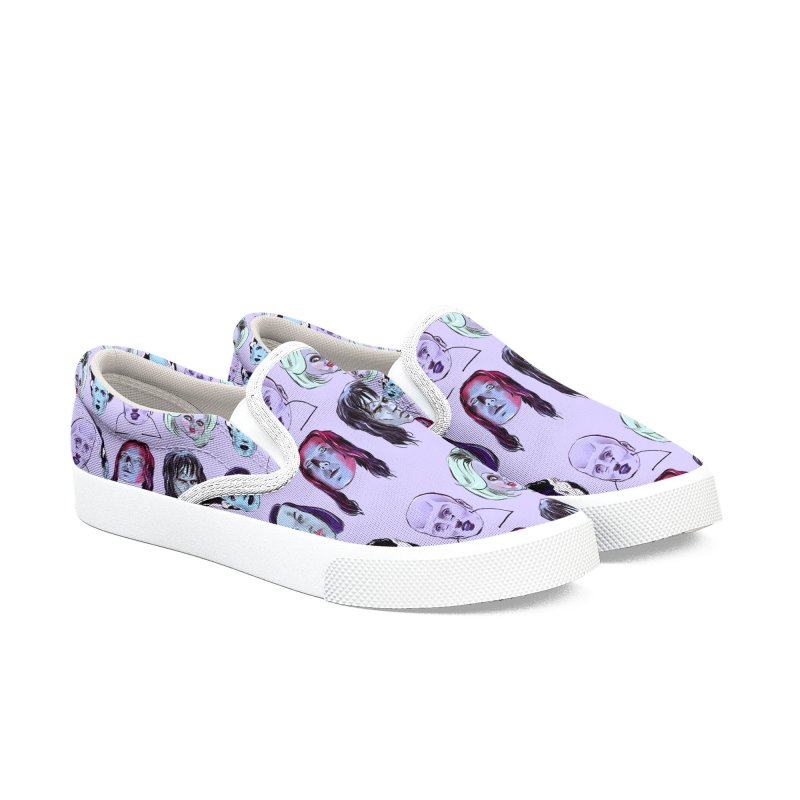 Horror Femmes Women's Slip-On Shoes by Ego Rodriguez
