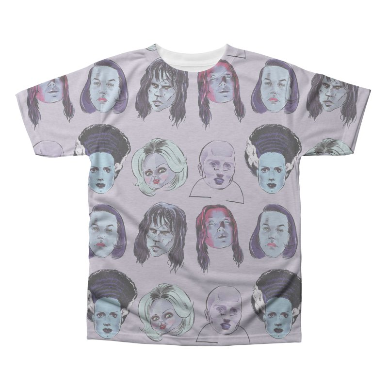 Horror Femmes Men's Triblend All Over Print by Ego Rodriguez