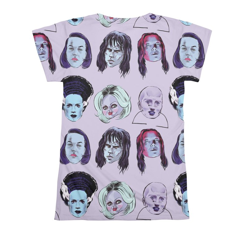 Horror Femmes Women's All Over Print by Ego Rodriguez