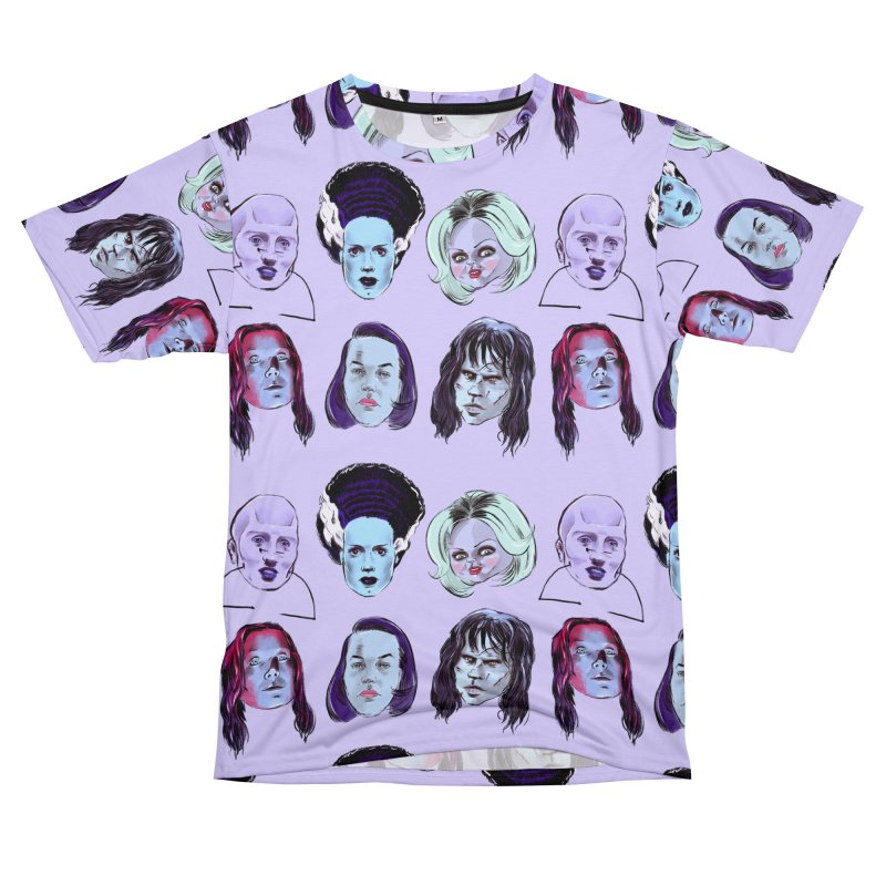 Horror Femmes Men's T-Shirt Cut & Sew by Ego Rodriguez