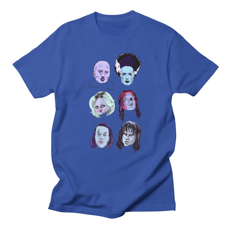 Horror Femmes Men's T-Shirt by Ego Rodriguez