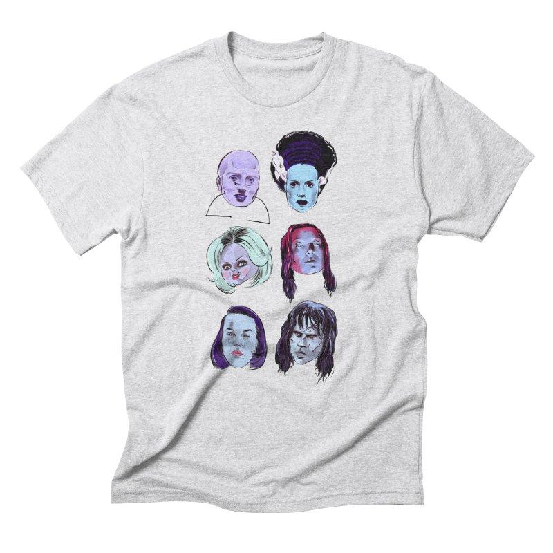 Horror Femmes Men's Triblend T-Shirt by Ego Rodriguez