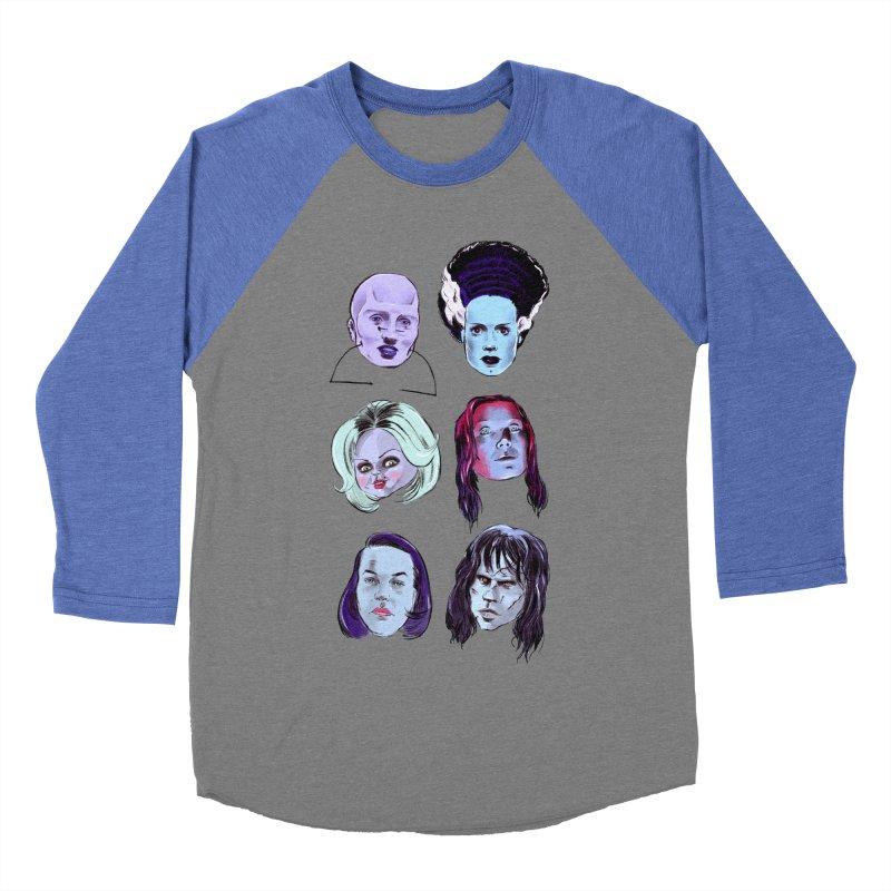 Horror Femmes Women's Baseball Triblend T-Shirt by Ego Rodriguez