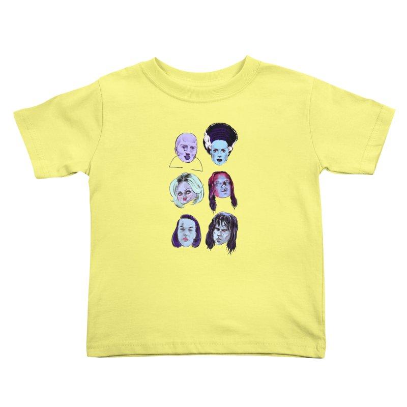 Horror Femmes Kids Toddler T-Shirt by Ego Rodriguez