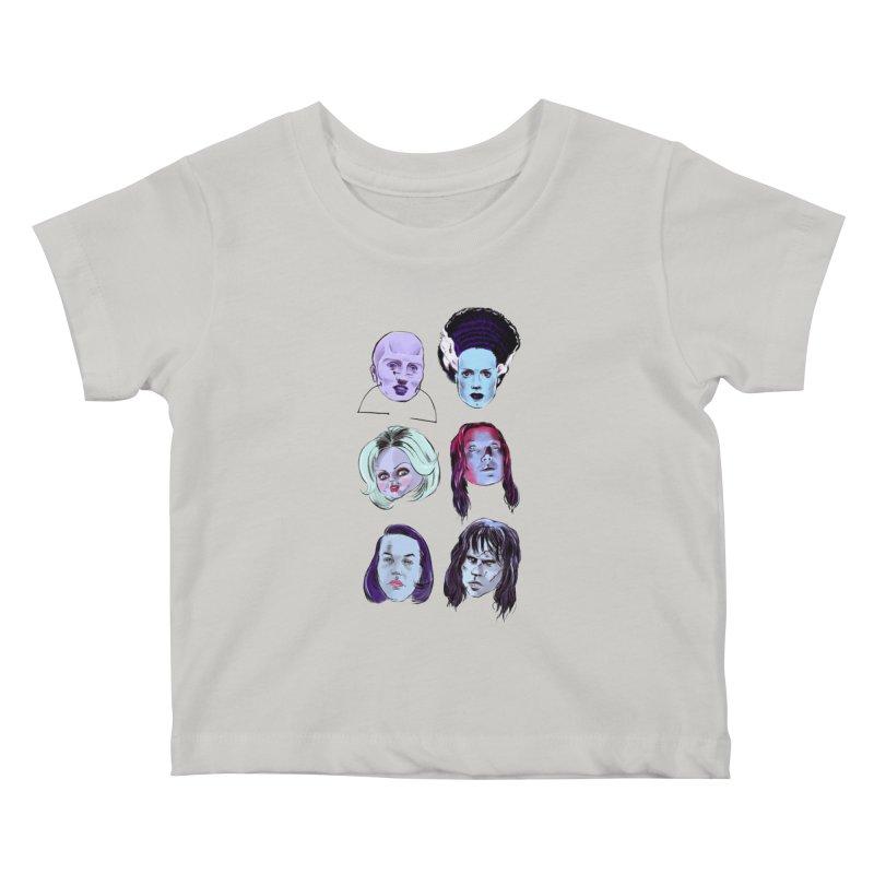 Horror Femmes Kids Baby T-Shirt by Ego Rodriguez