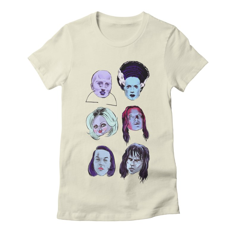 Horror Femmes Women's Fitted T-Shirt by Ego Rodriguez