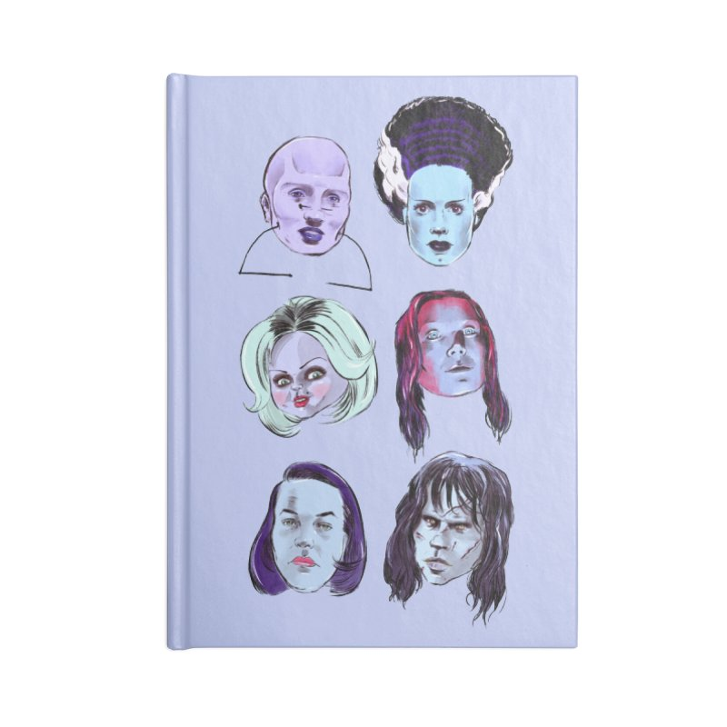 Horror Femmes Accessories Notebook by Ego Rodriguez