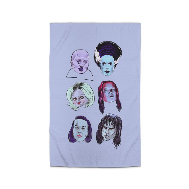 Horror Femmes Home Rug by Ego Rodriguez