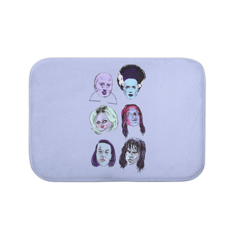 Horror Femmes Home Bath Mat by Ego Rodriguez