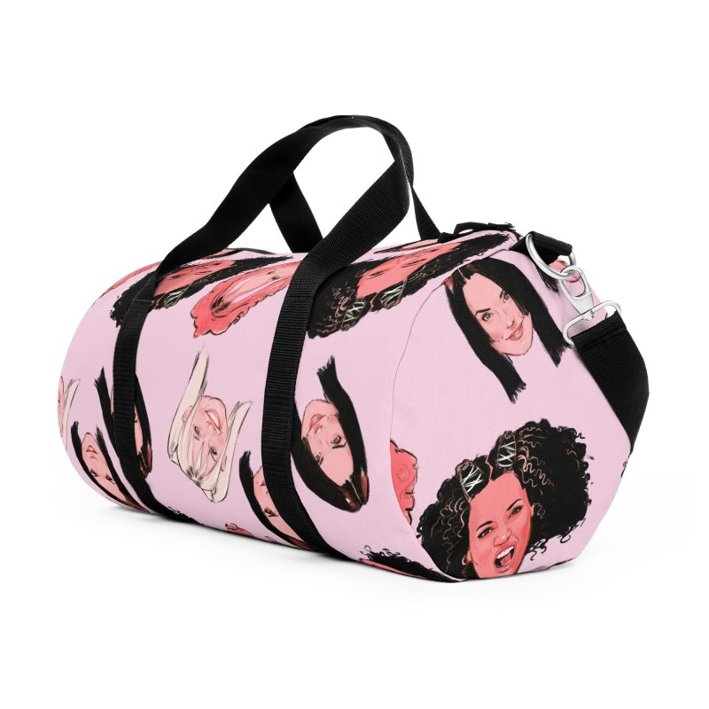 Viva Forever Accessories Duffel Bag Bag by Ego Rodriguez