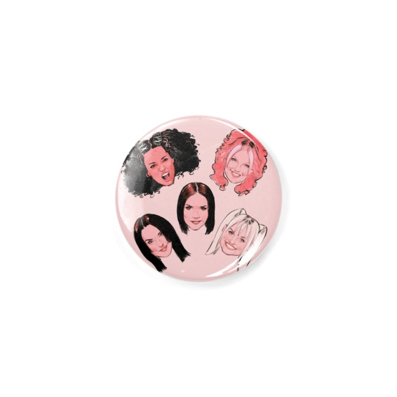Viva Forever Accessories Button by Ego Rodriguez