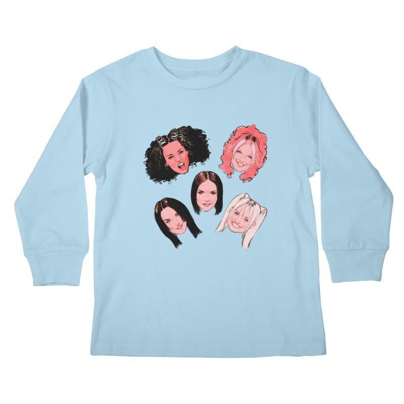 Viva Forever Kids Longsleeve T-Shirt by Ego Rodriguez