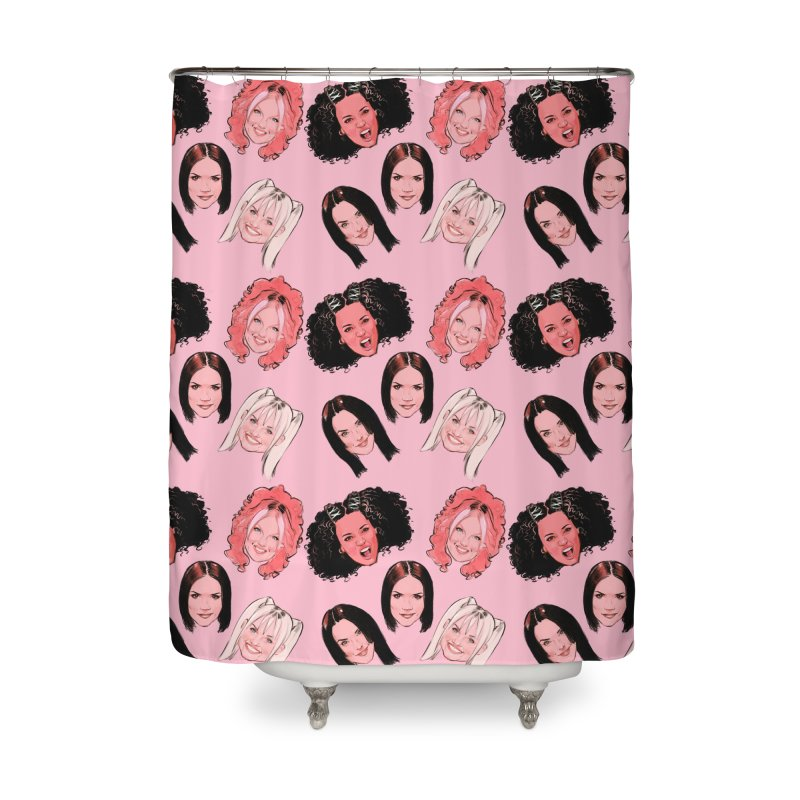 Viva Forever Home Shower Curtain by Ego Rodriguez