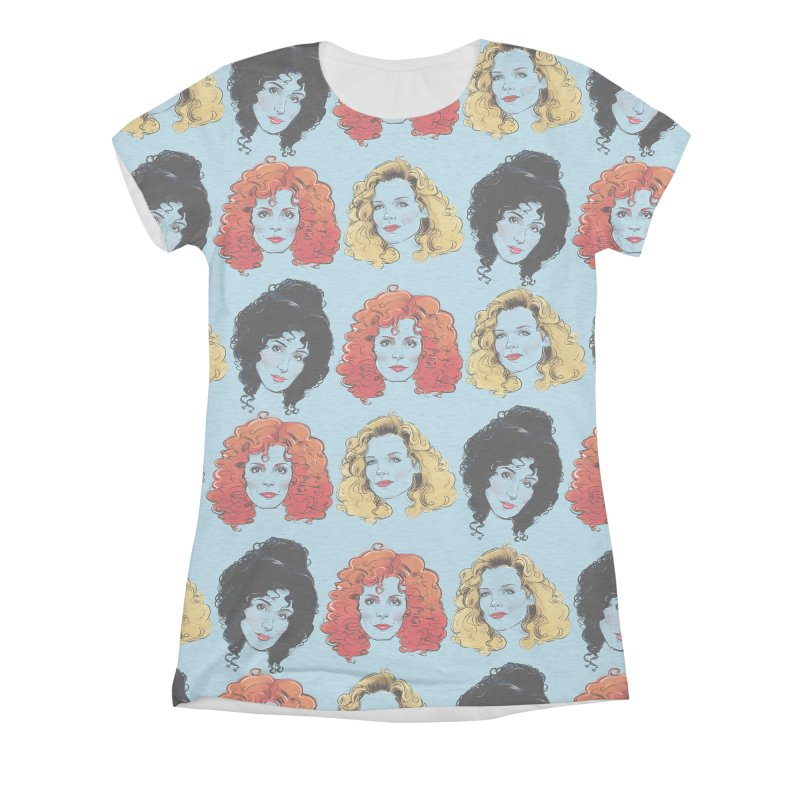 Witches Women's Triblend All Over Print by Ego Rodriguez