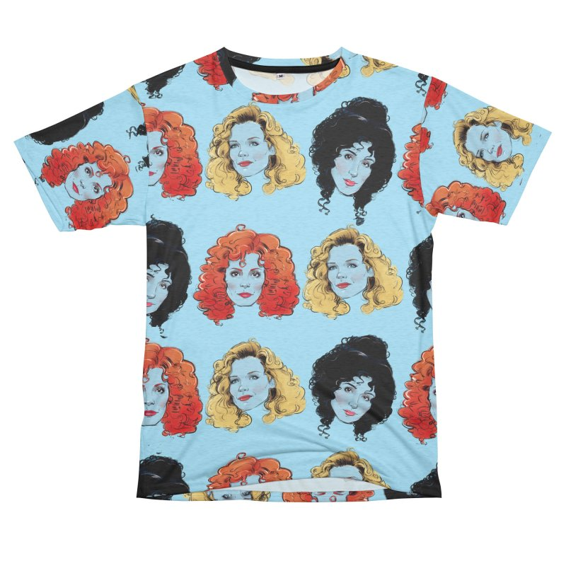 Witches Women's Unisex French Terry T-Shirt Cut & Sew by Ego Rodriguez