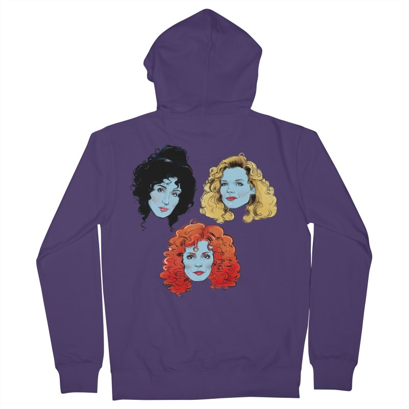 Witches Women's Zip-Up Hoody by Ego Rodriguez