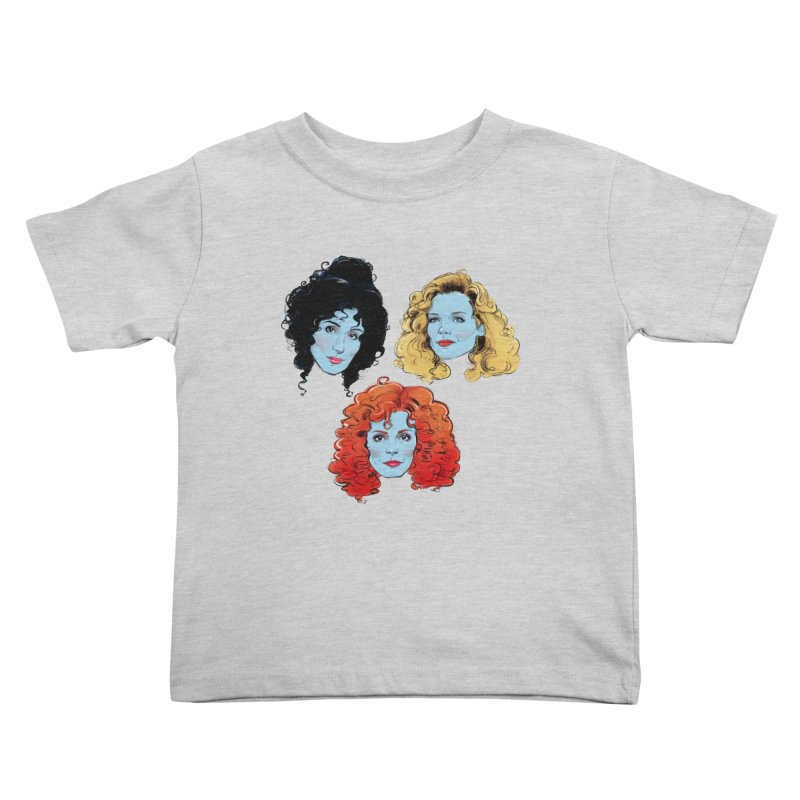 Witches Kids Toddler T-Shirt by Ego Rodriguez