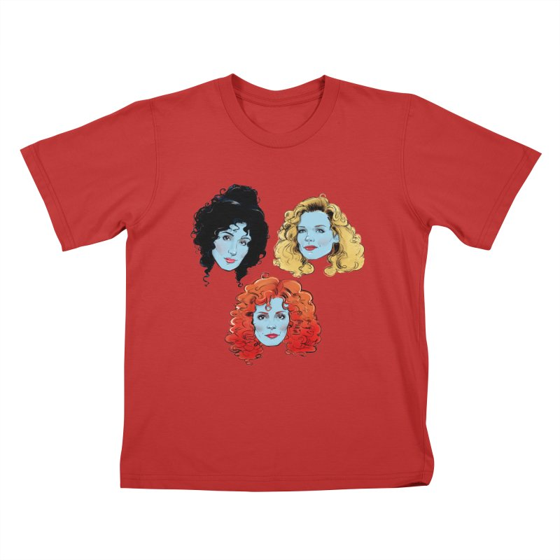 Witches Kids T-Shirt by Ego Rodriguez