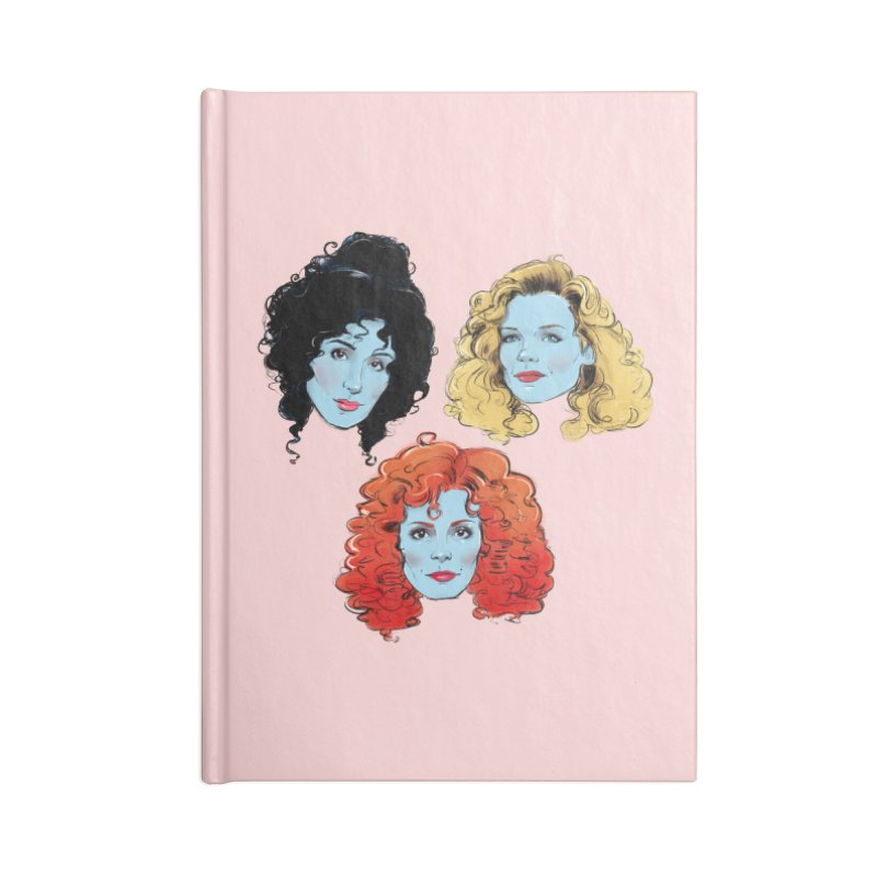 Witches Accessories Notebook by Ego Rodriguez