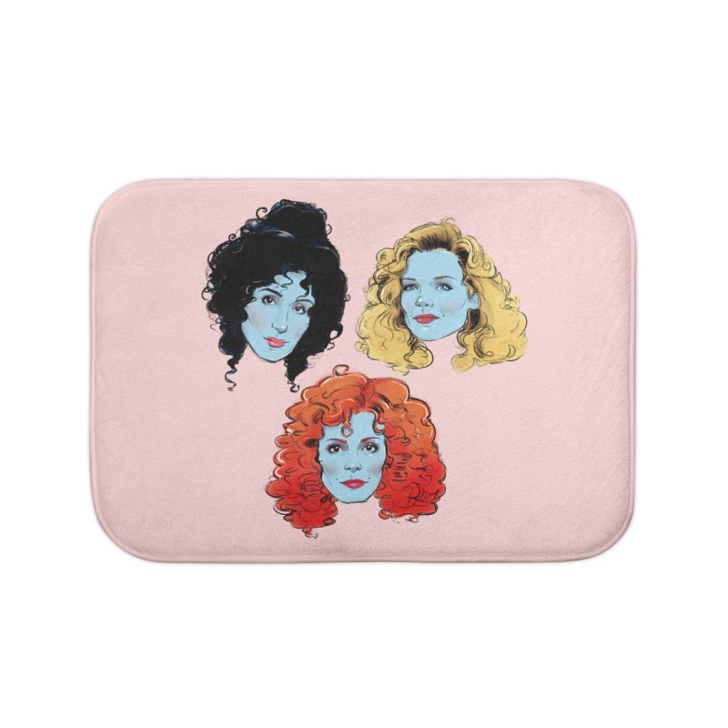 Witches Home Bath Mat by Ego Rodriguez