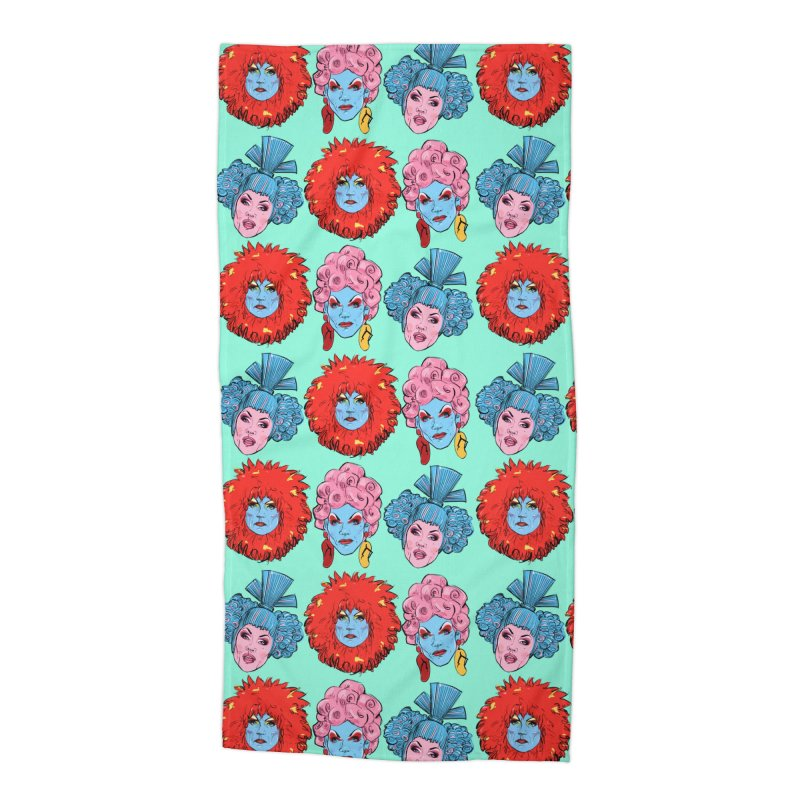 Queens Accessories Beach Towel by Ego Rodriguez