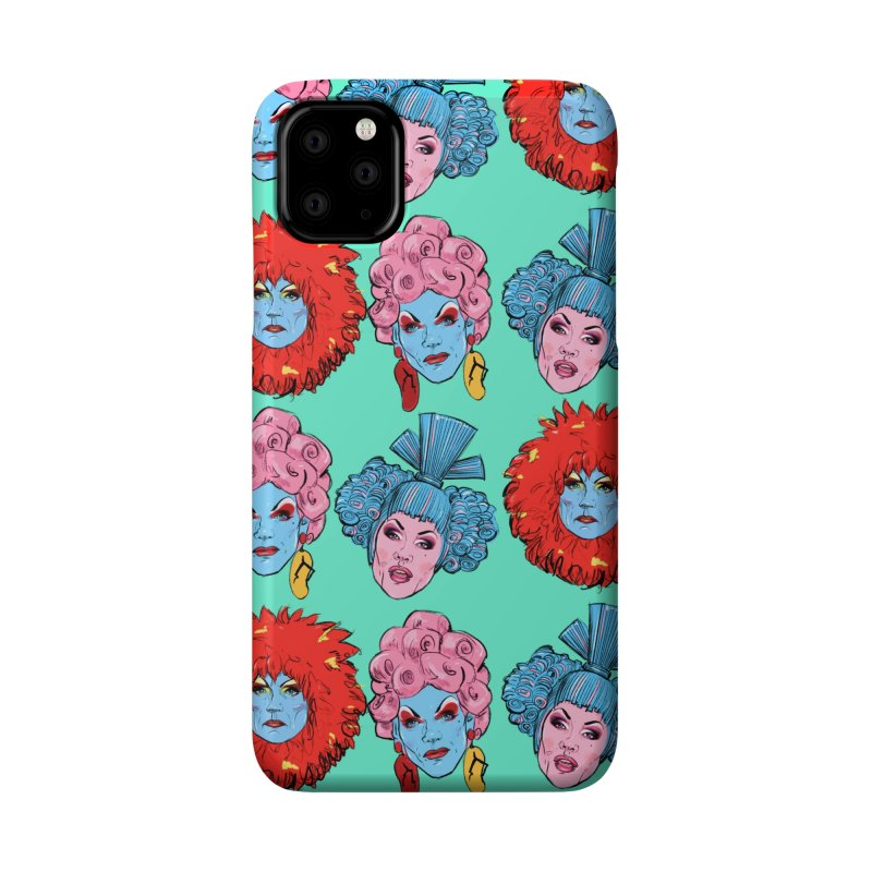 Queens Accessories Phone Case by Ego Rodriguez