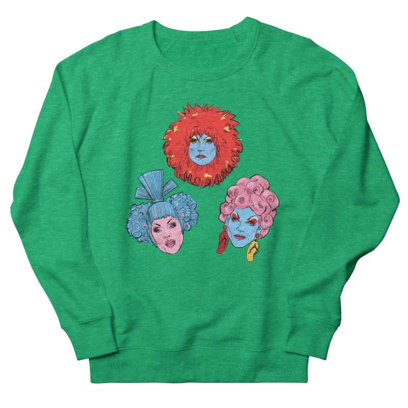 Queens Men's Sweatshirt by Ego Rodriguez