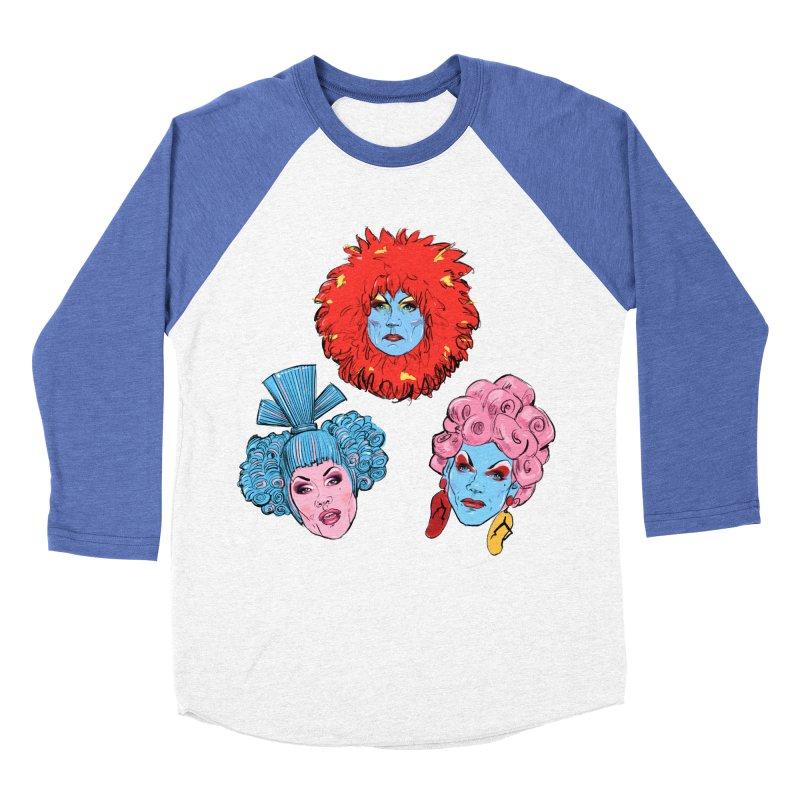 Queens Women's Baseball Triblend T-Shirt by Ego Rodriguez
