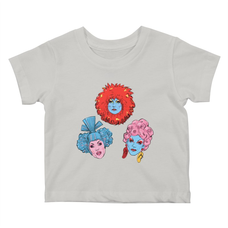 Queens Kids Baby T-Shirt by Ego Rodriguez