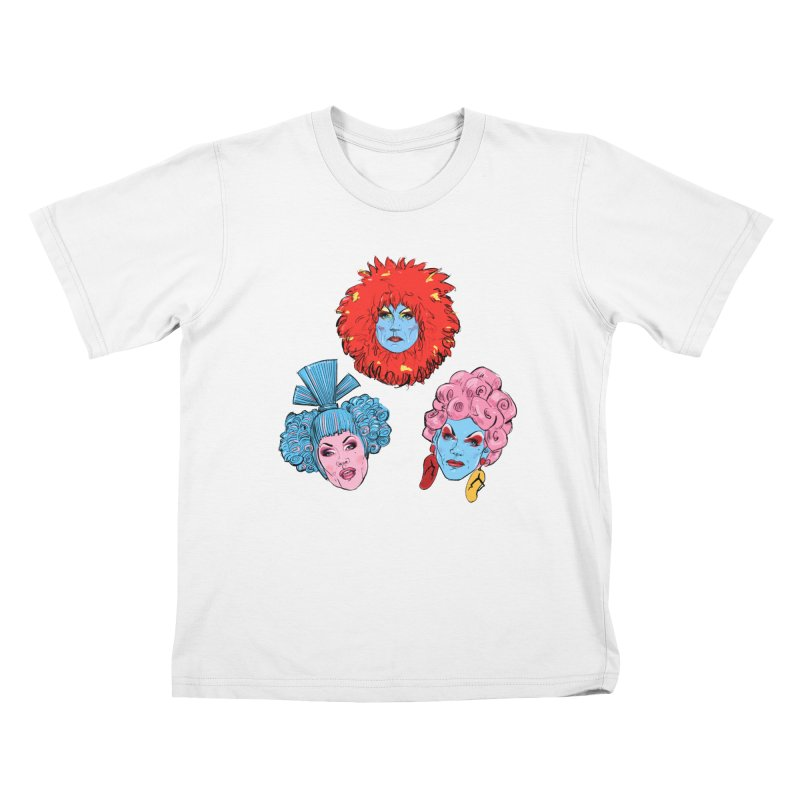 Queens Kids T-Shirt by Ego Rodriguez