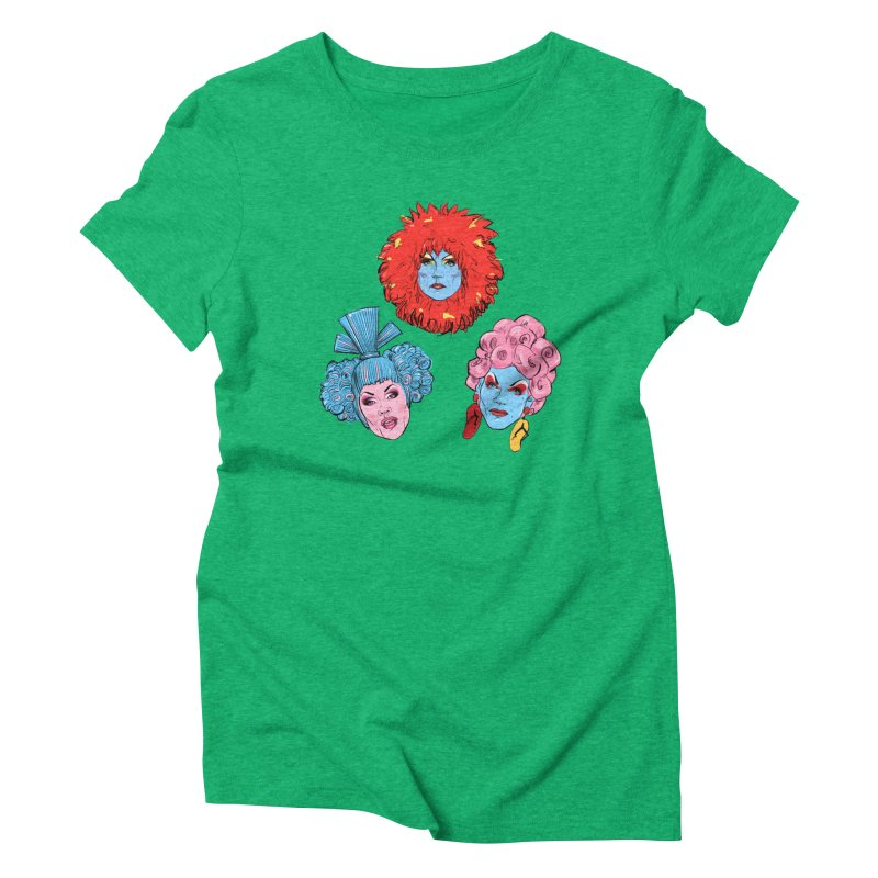Queens Women's Triblend T-Shirt by Ego Rodriguez
