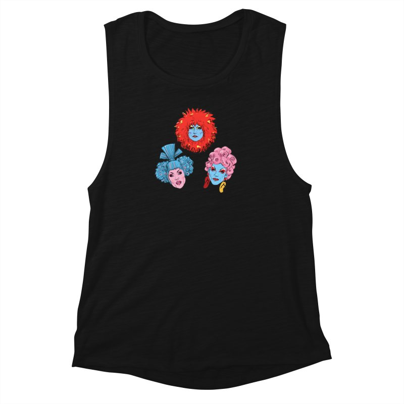 Queens Women's Muscle Tank by Ego Rodriguez