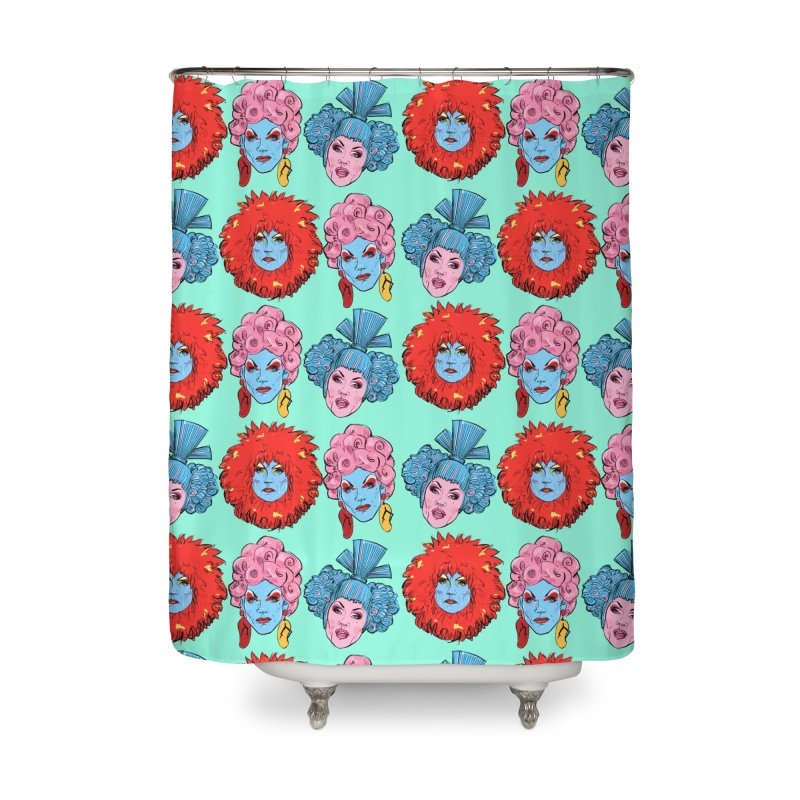 Queens Home Shower Curtain by Ego Rodriguez