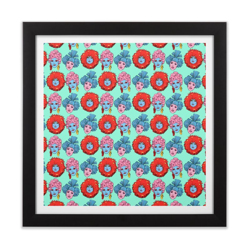 Queens Home Framed Fine Art Print by Ego Rodriguez