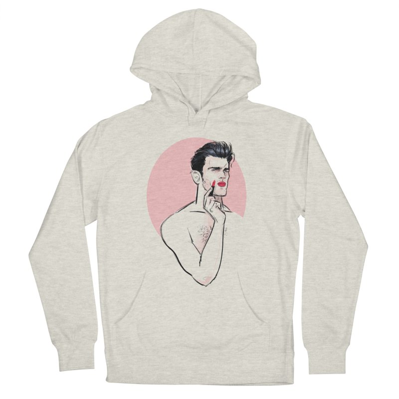 Lipstick Men's Pullover Hoody by Ego Rodriguez