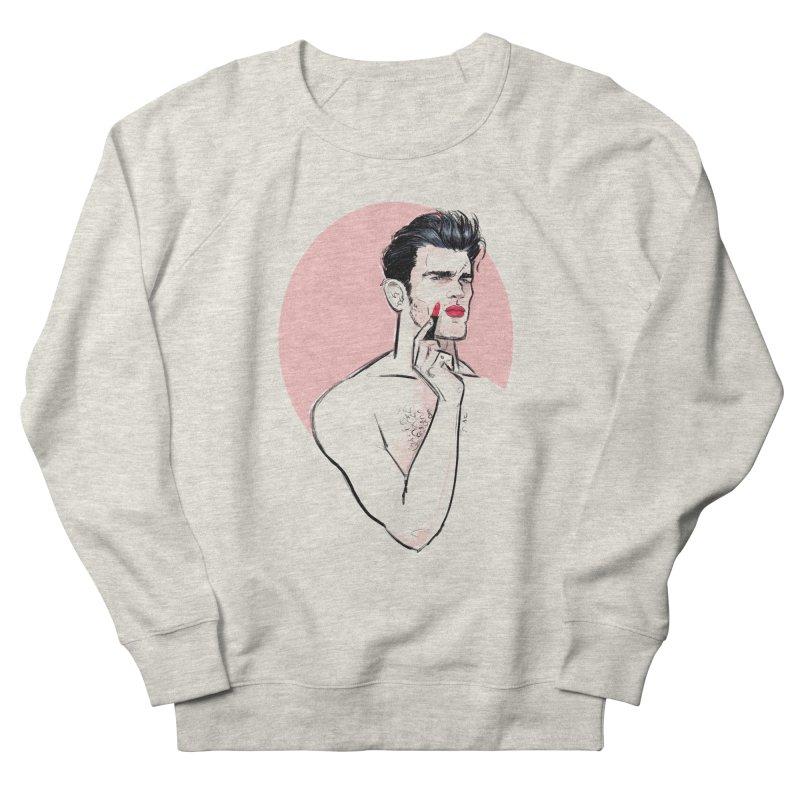 Lipstick Men's Sweatshirt by Ego Rodriguez