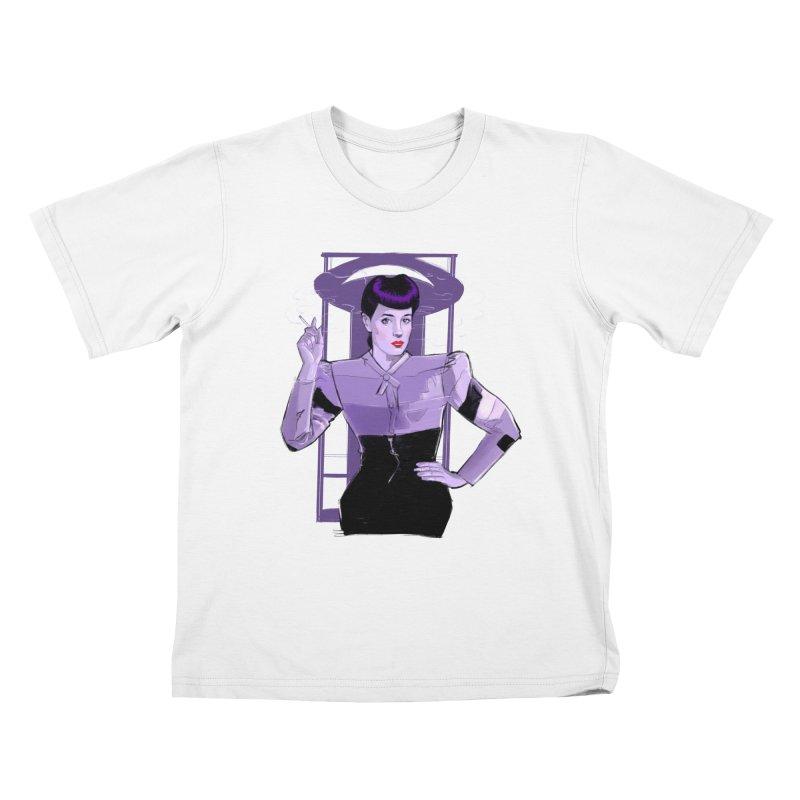 Rachael Kids T-Shirt by Ego Rodriguez