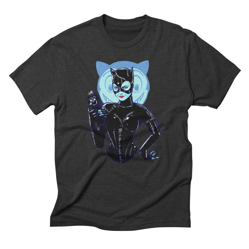 Selina in Men's Triblend T-Shirt Heather Onyx by Ego Rodriguez