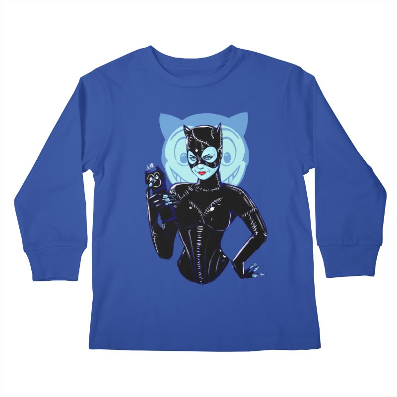 Selina Kids Longsleeve T-Shirt by Ego Rodriguez